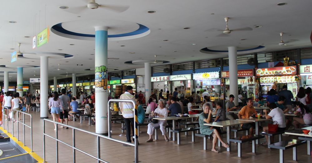 Busy Tiong Bahru Market