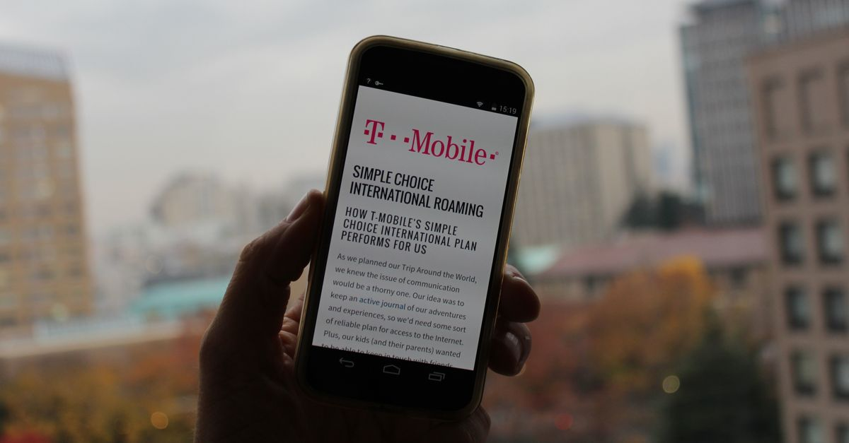 T Mobile Simple Choice International Plans Taking On The World