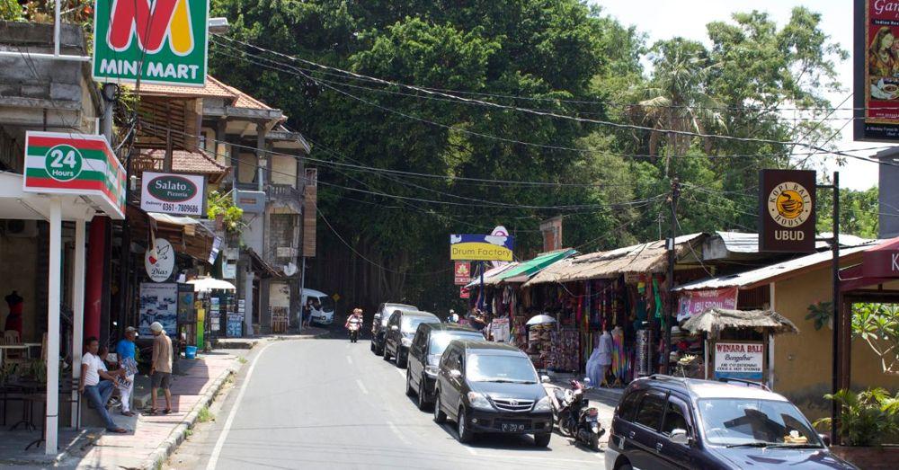 Ubud Village Street