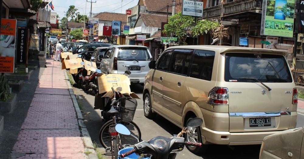 Motorbikes, tiny cars.