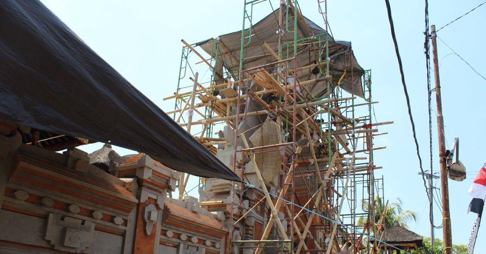 Temple repair