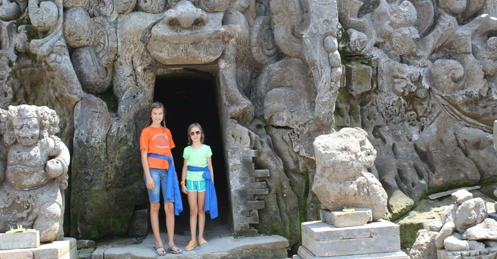 At the mouth of the Elephant Cave