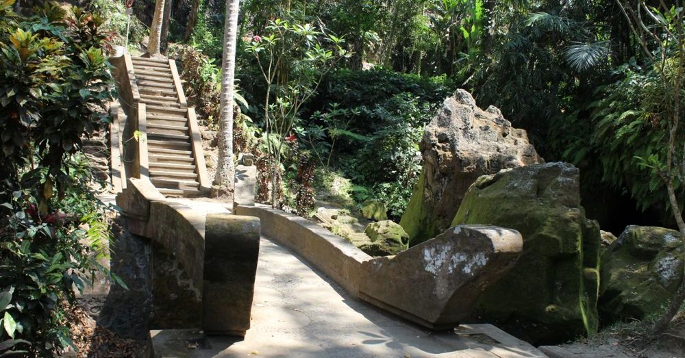 Stairs at the Elephant Cave