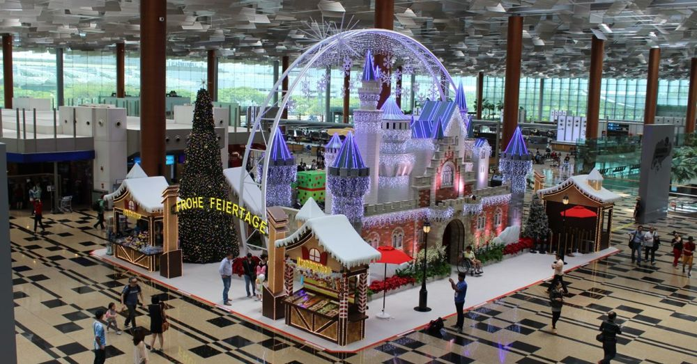 Christmas is coming to Changi