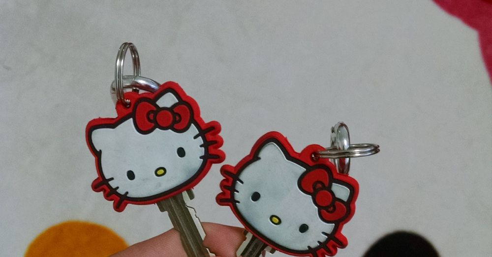Hello, kitty: kawaii keys.