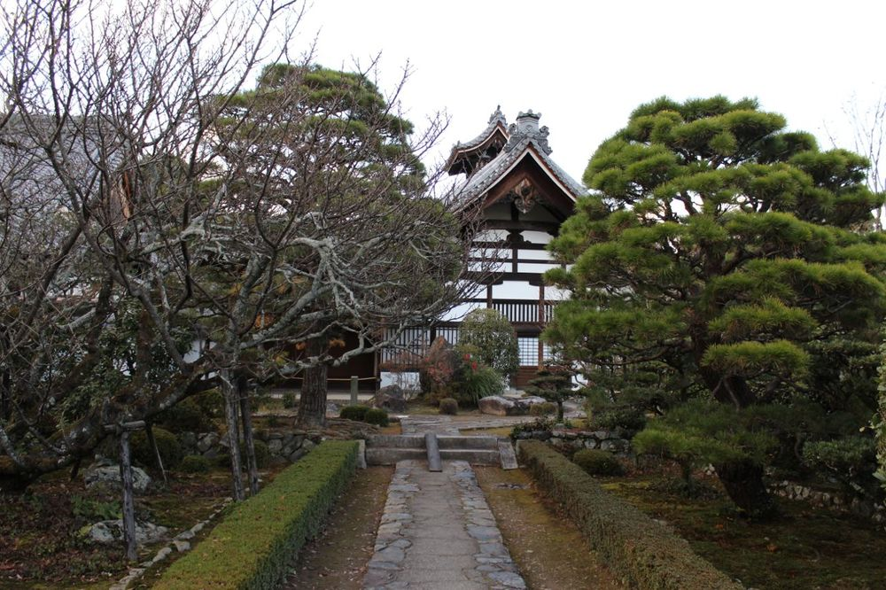 The grounds at Tenryū-ji Temple