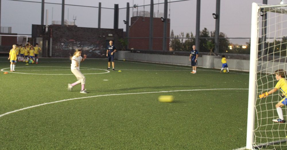 Soccer in Sai Kung I