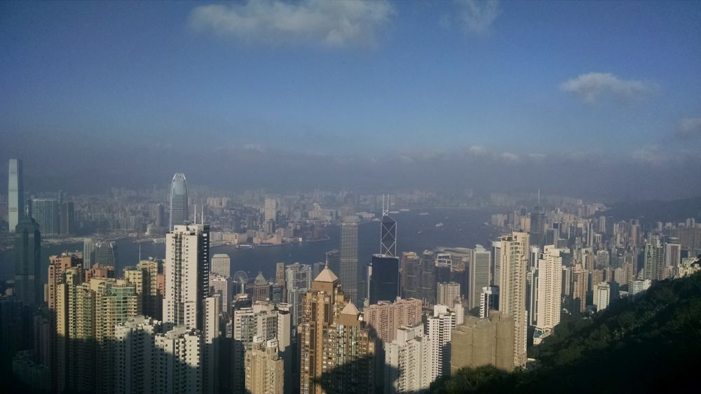 Overlooking Kowloon Bay