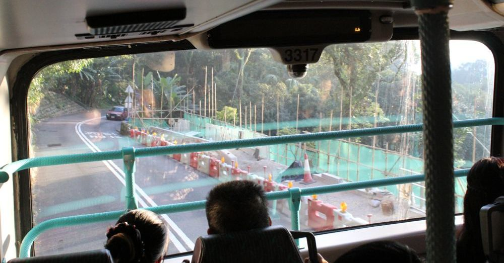 Bus ride from The Peak