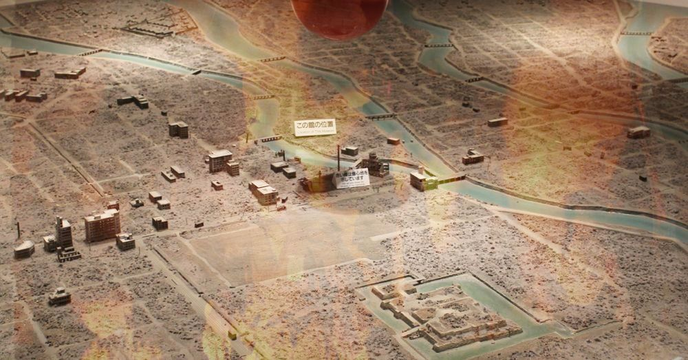 Diorama of destruction: Hiroshima after the atomic bomb.