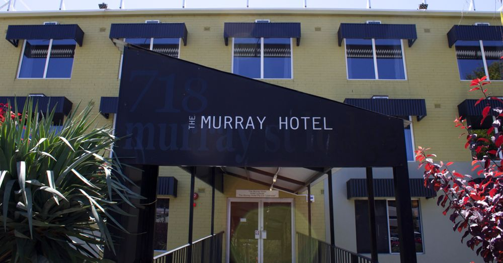 The Murray Hotel in Perth, Australia. Pretty much the perfect hotel.