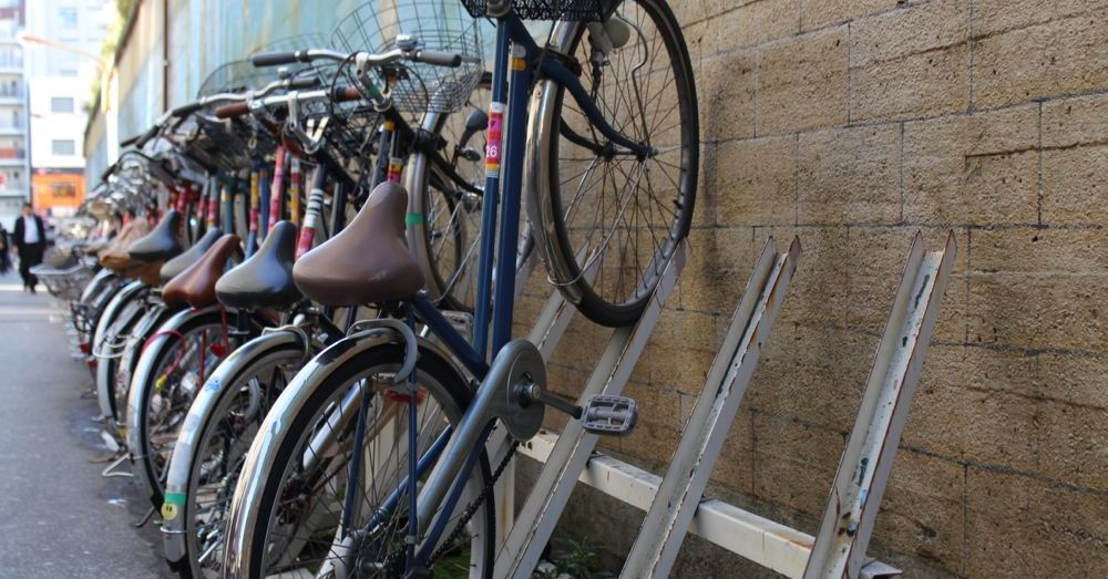 Japanese Bike Racks