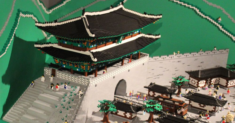 You can build your own (smaller) version with the Lego Architecture Sungnyemun Gate Kit.