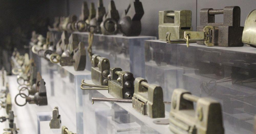 A lot of locks.