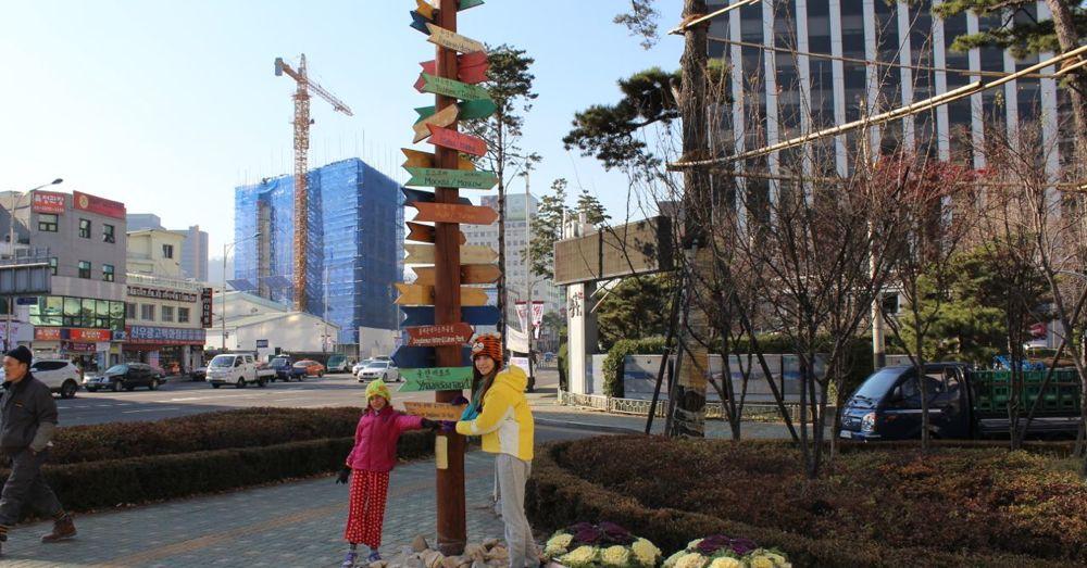 Dongdaemun Silk Road Milestone