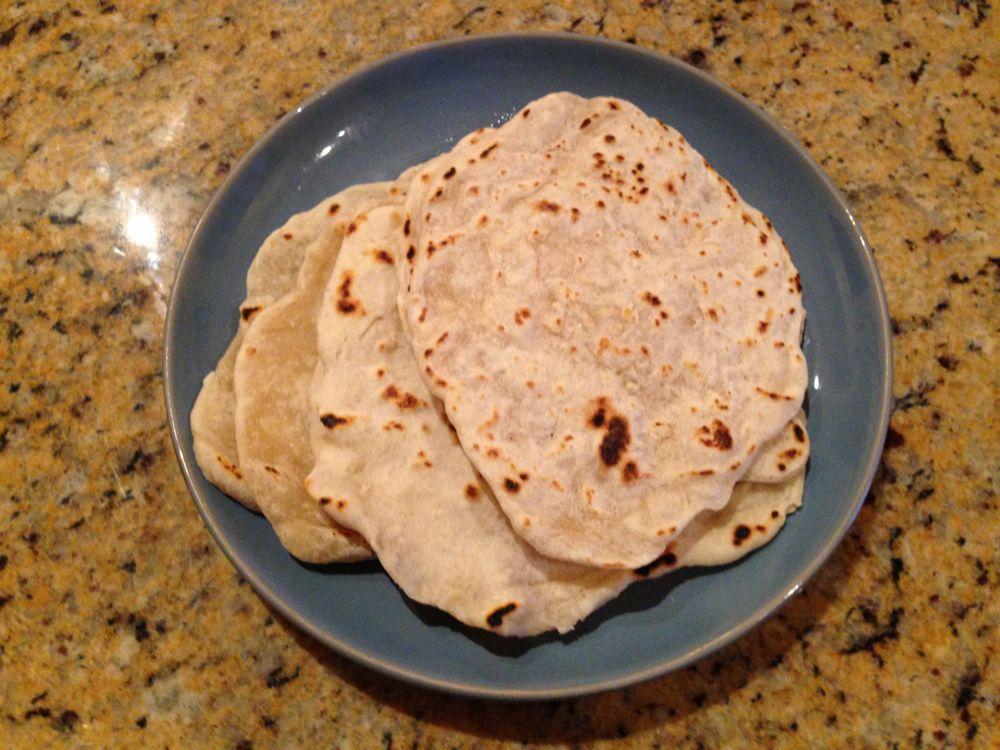 Homemade tortillas by Samantha
