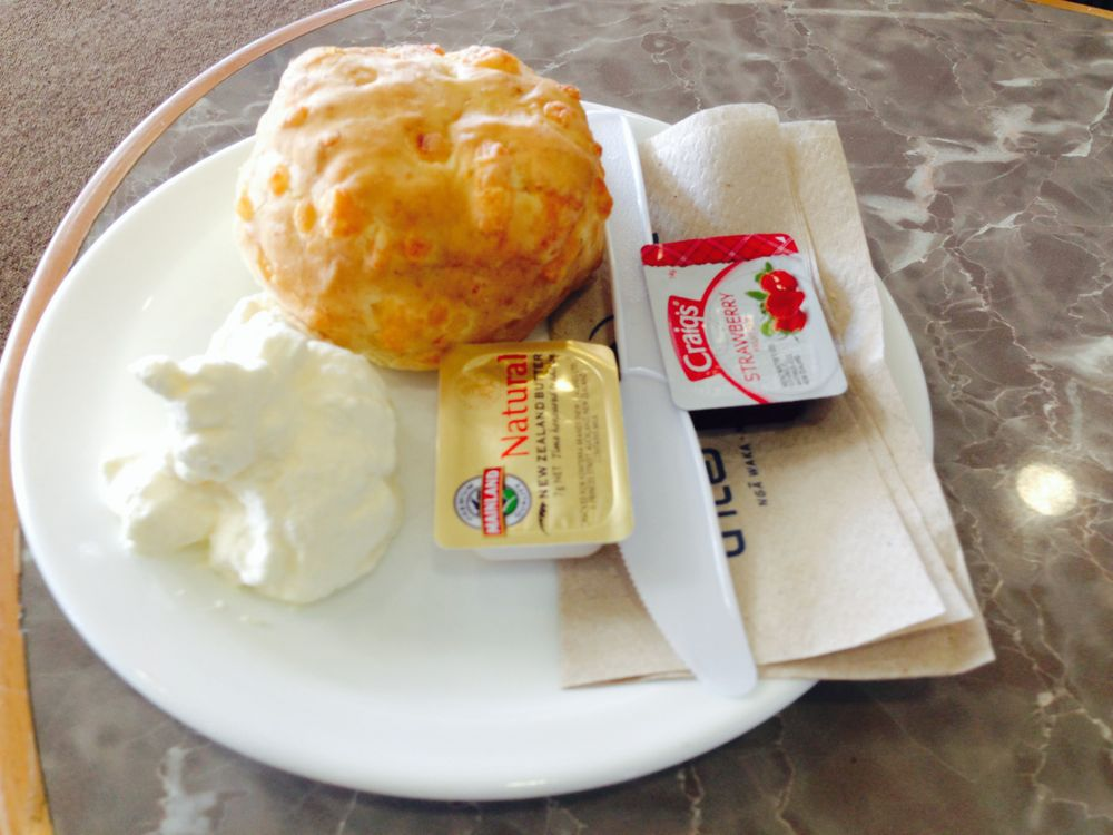 Scones and clotted cream