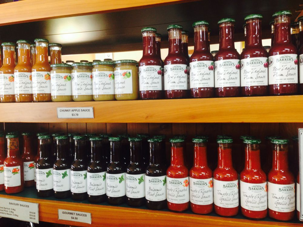 Barker's of Geraldine, jams, jellies, chutneys & spreads