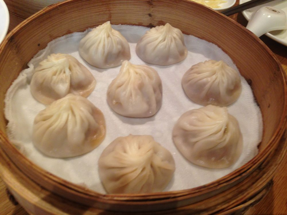 Xiao long bao (juicy pork dumpling)