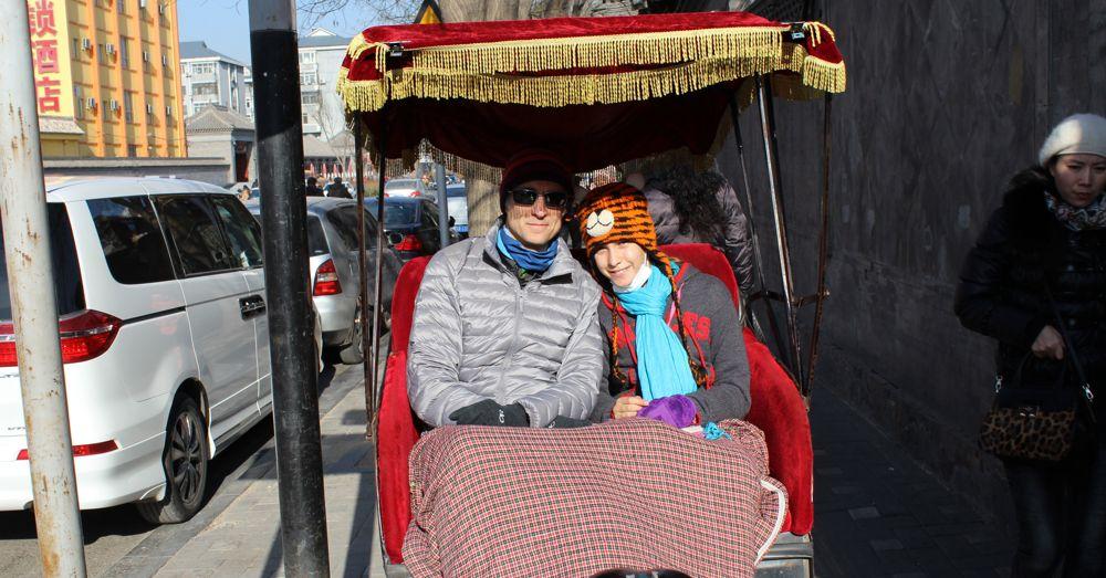 Rickshaw riders.