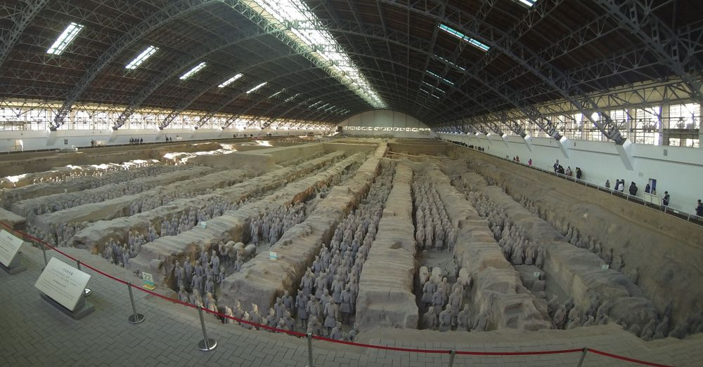 Terracotta Army, Chamber 1
