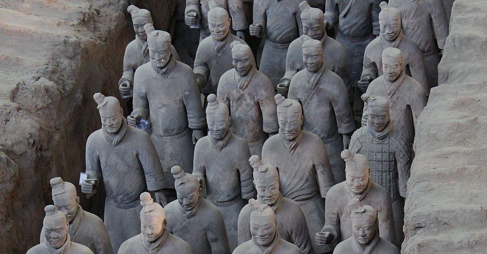Terracotta Warriors Face 6 000 Warriors Every Face