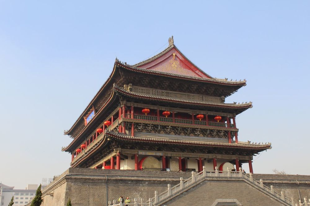 Xi'an Drum Tower.