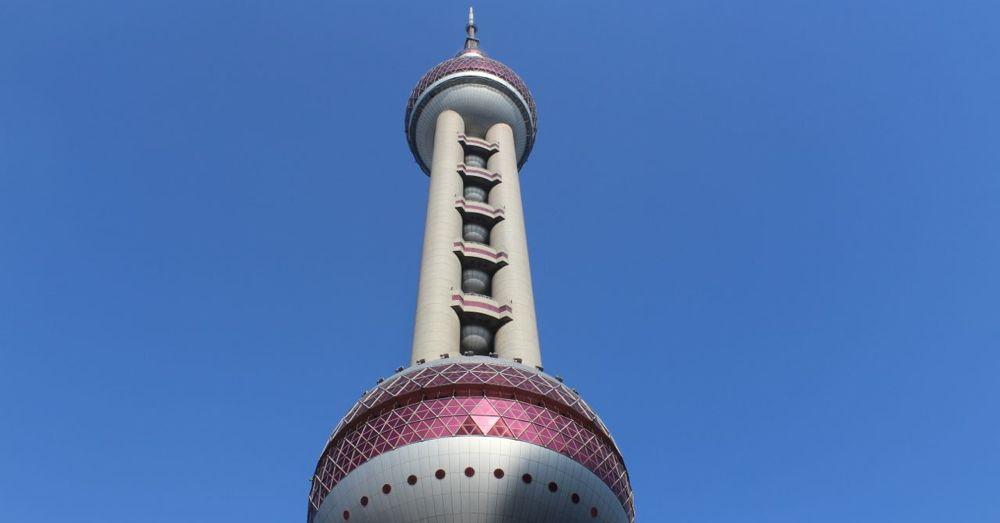Oriental Pearl Tower.