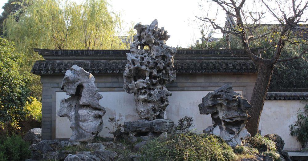 The Exquisite Jade Rock has 72 holes.