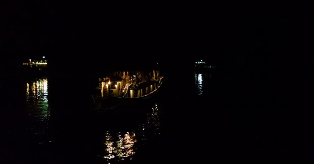 Night time, Ha Long Bay.