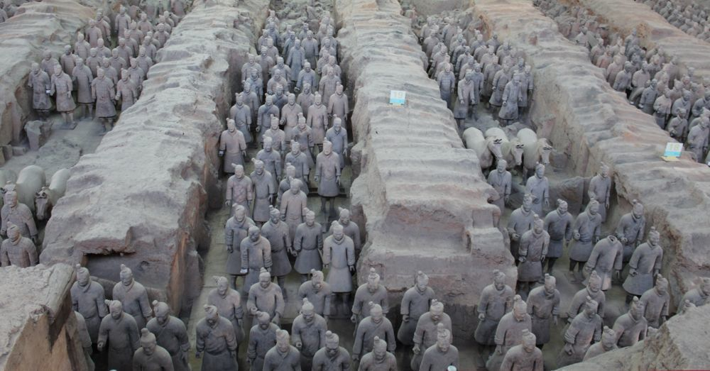 Terracotta Warriors, Chamber One