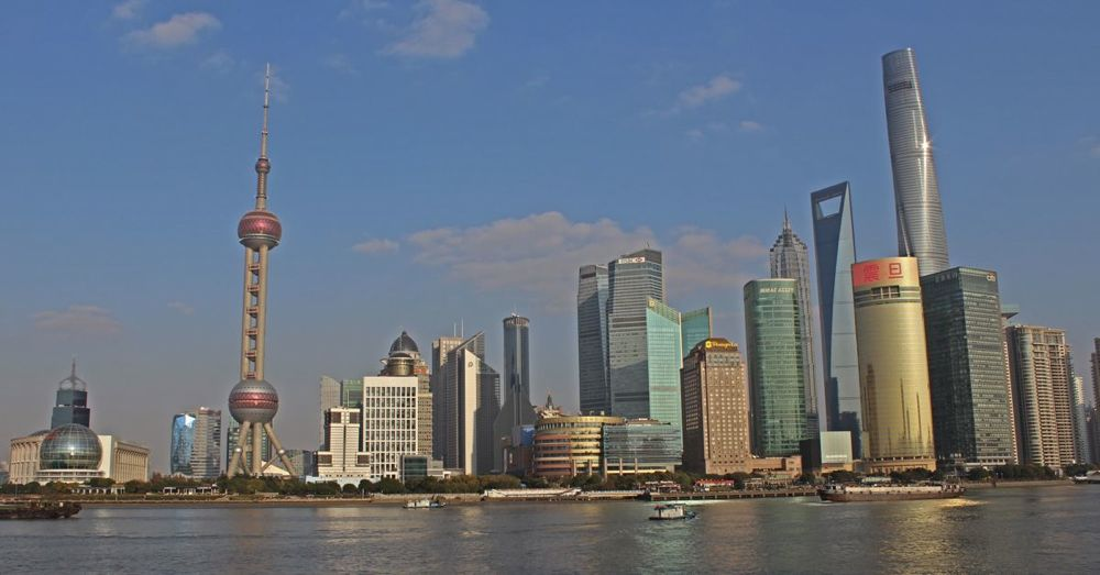 Skyline Across the Huangpu River