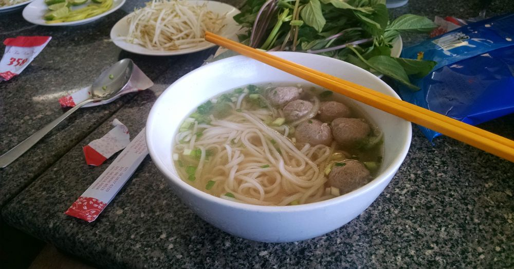 Pho Bo Vien at Pho Quynh.