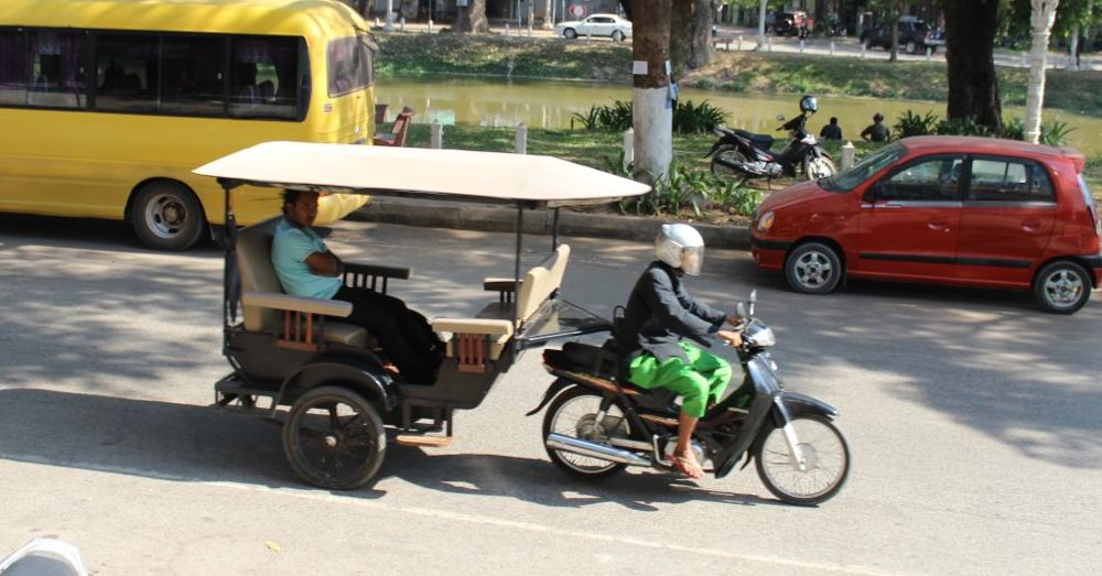 Tuk Tuks are everywhere ... and fun!