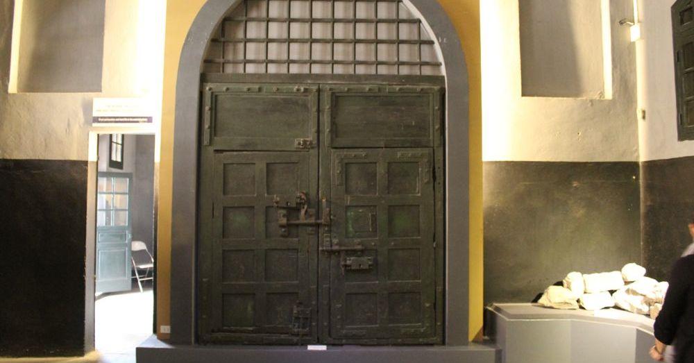 Original Hoa Lo Prison Gate