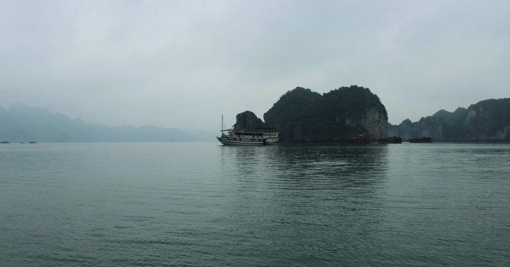 Another day, another island in Ha Long Bay