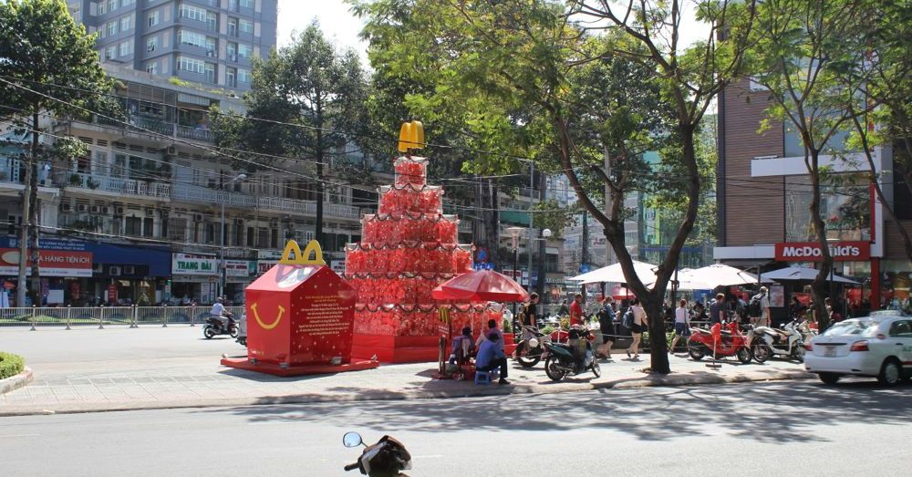 McDonald's in Saigon