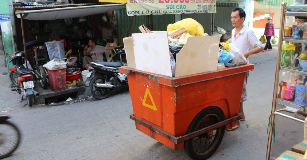 Trashman, Saigon