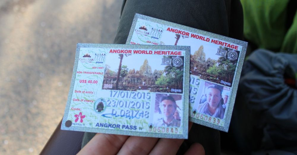 Angkor Archaeological Park Tickets.