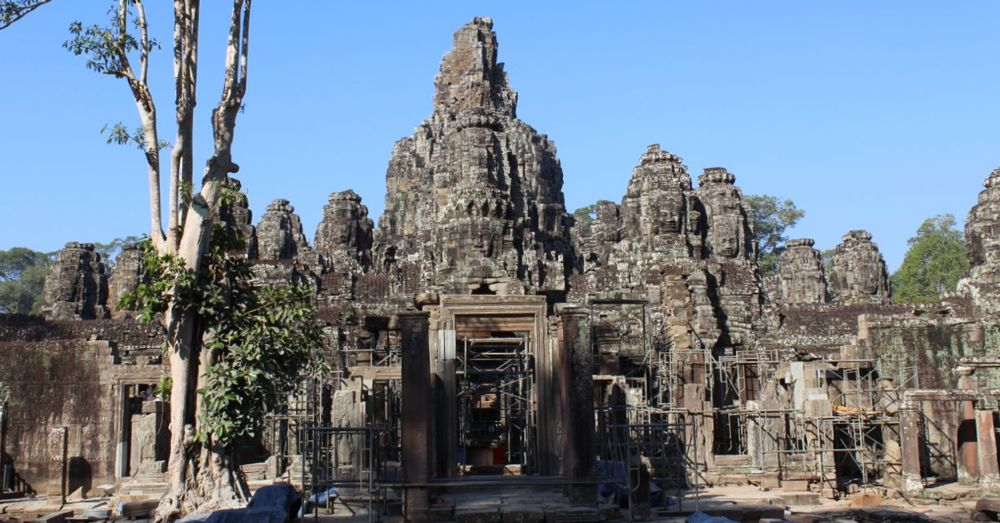 Bayon, looking to the west.