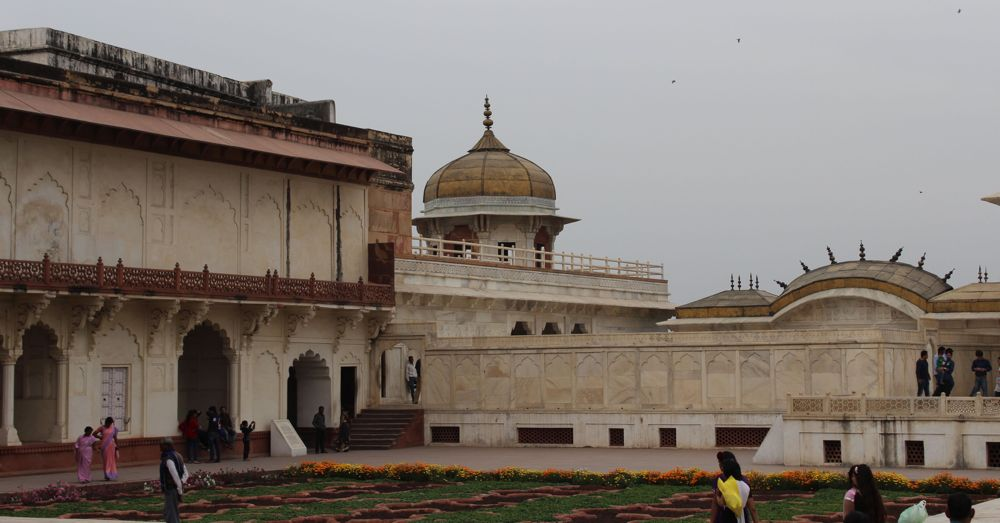 The opulent prison where Shah Jahan lived out his days.