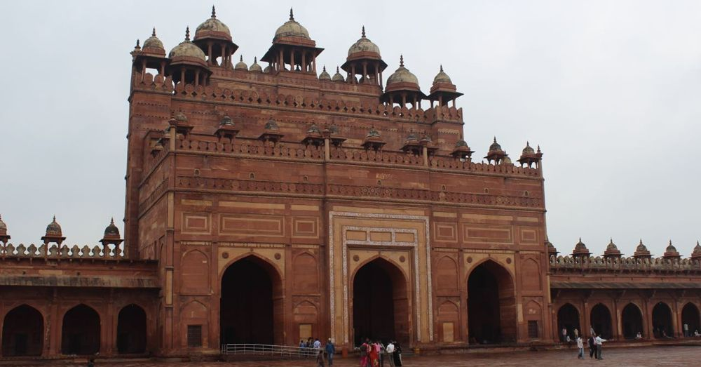 Buland Darwaza, the Victory Gate.