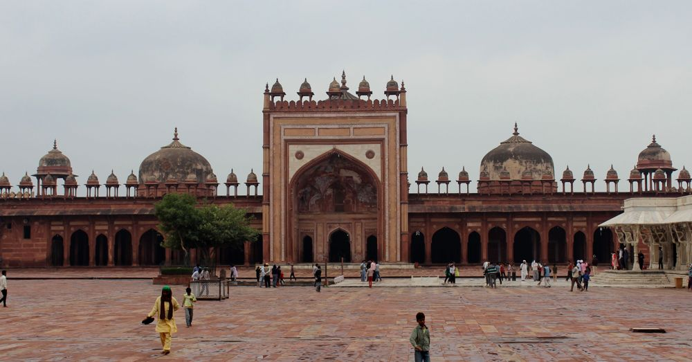 Jama Masjid at Fatehpur Skiri.