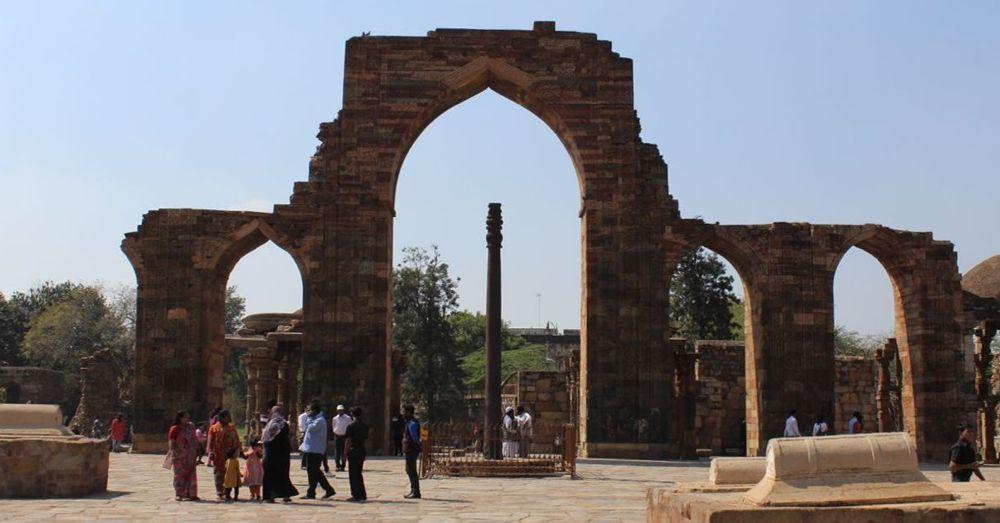 Iron Pillar.
