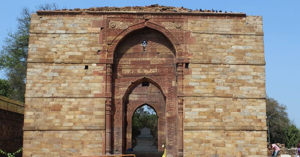Doorways into the Tomb of Iltutmish.