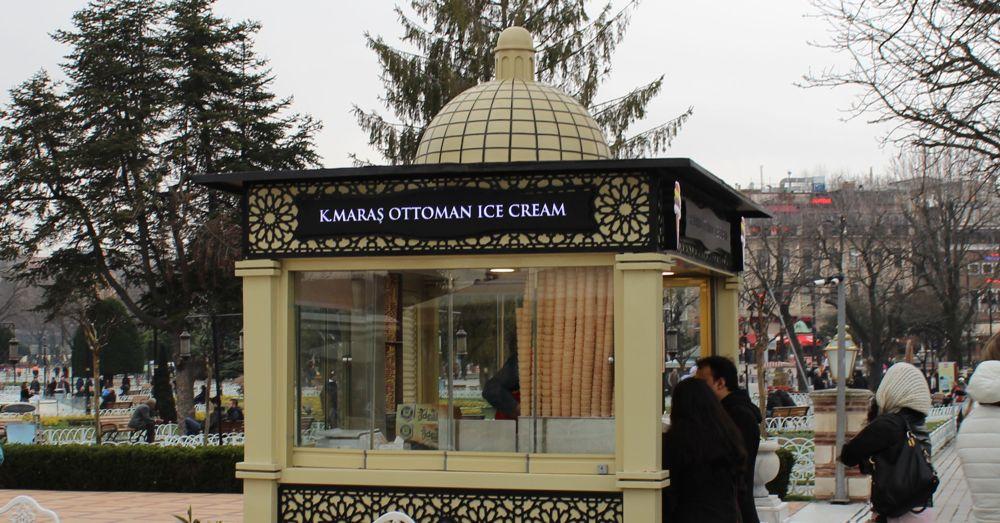 Ottoman Ice Cream.