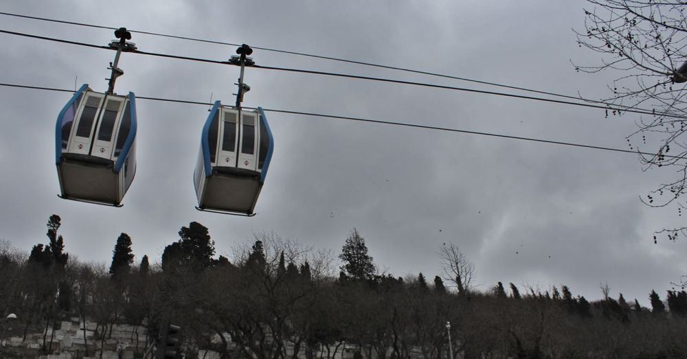 Twin Pierre Loti Cable Cars.