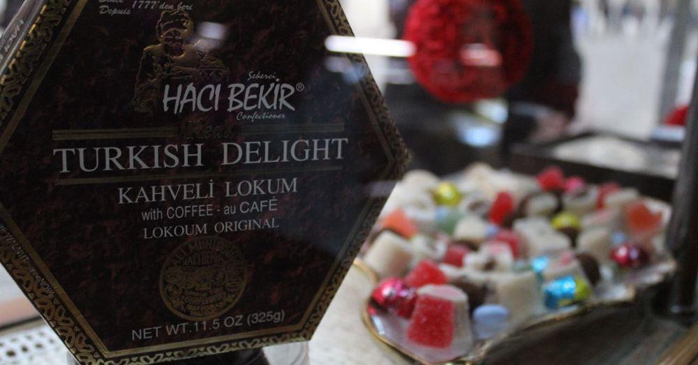 Haci Bekir, making delight since 1777.