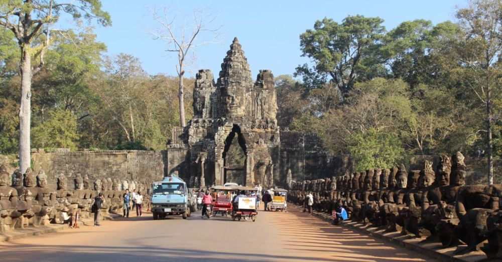 South Gate (into Angkor Thom)