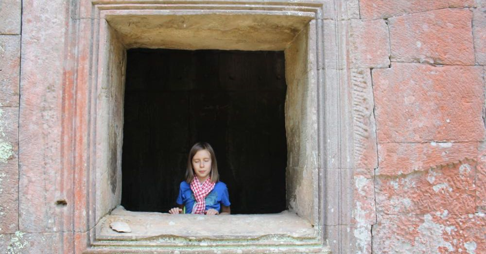 Jackie at Ta Prohm